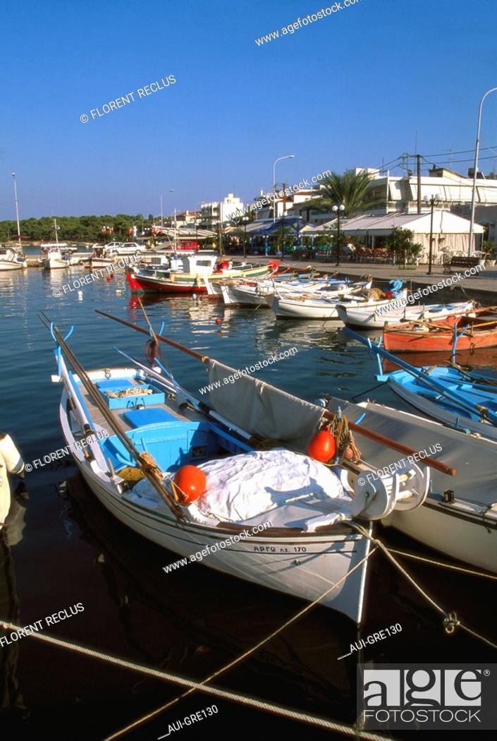 Stock Photo: Greece - Peloponnese - Argolide - Ermioni.