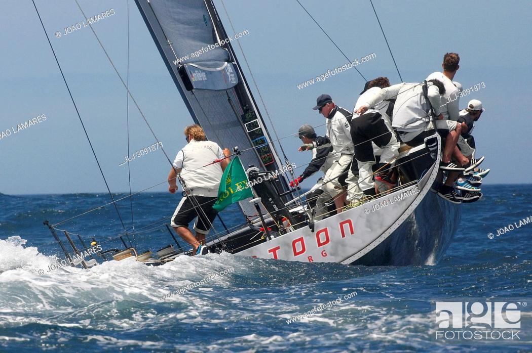 Stock Photo: Platoon, #02, Owner: Har Muller-Spreer, Sail nr: GER52, Yacht Club NRV Hamburg, Builder: Premier Composite Technologies Dubais; Rolex TP 52 World Championship.