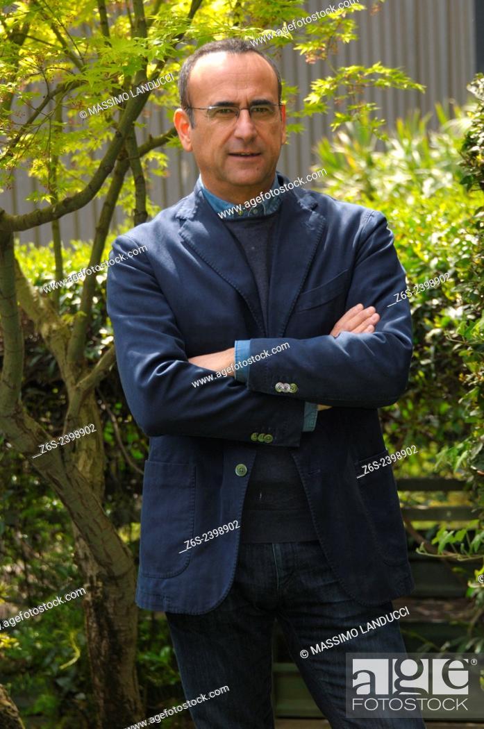Imagen: Carlo Conti; Conti; presenter TV ; celebrities; 2015;rome; italy;event; photocall; Si può fare.
