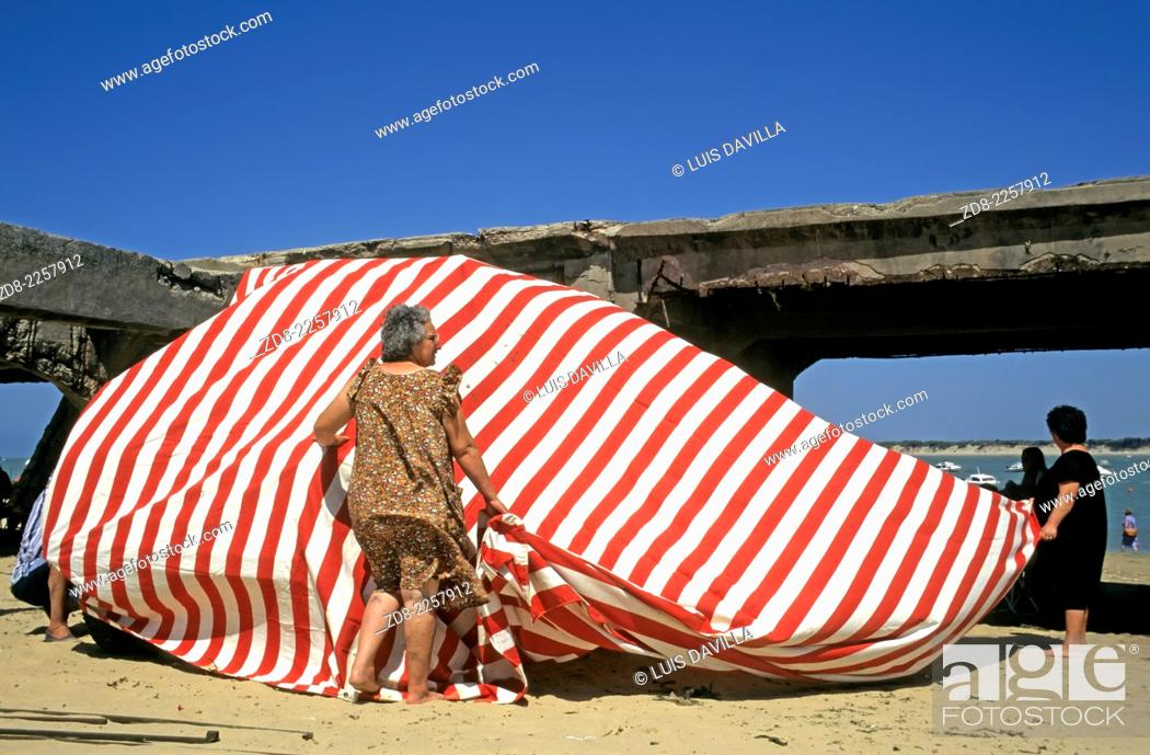 Imagen: beach.san lucar de barrameda.