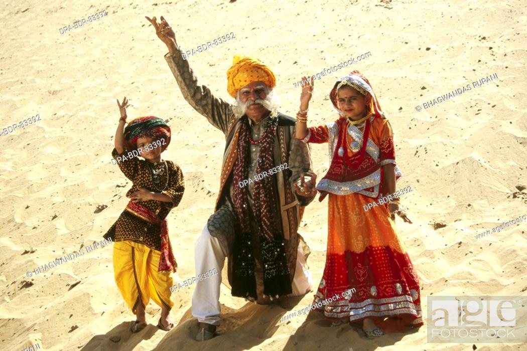Stock Photo: folk musicians , rajasthan , india , MR  NO  657.