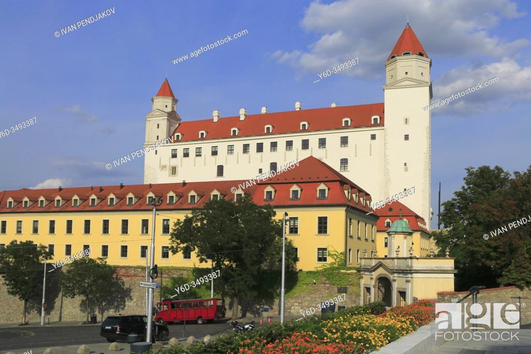 Stock Photo: Bratislava Castle, Slovakia.