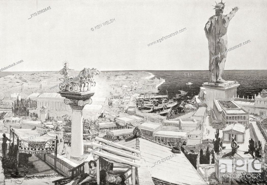 colossus in rhodes
