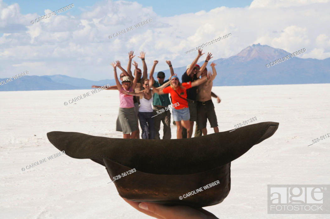 Stock Photo: Salt Flats of Uyuni, Bolivia.