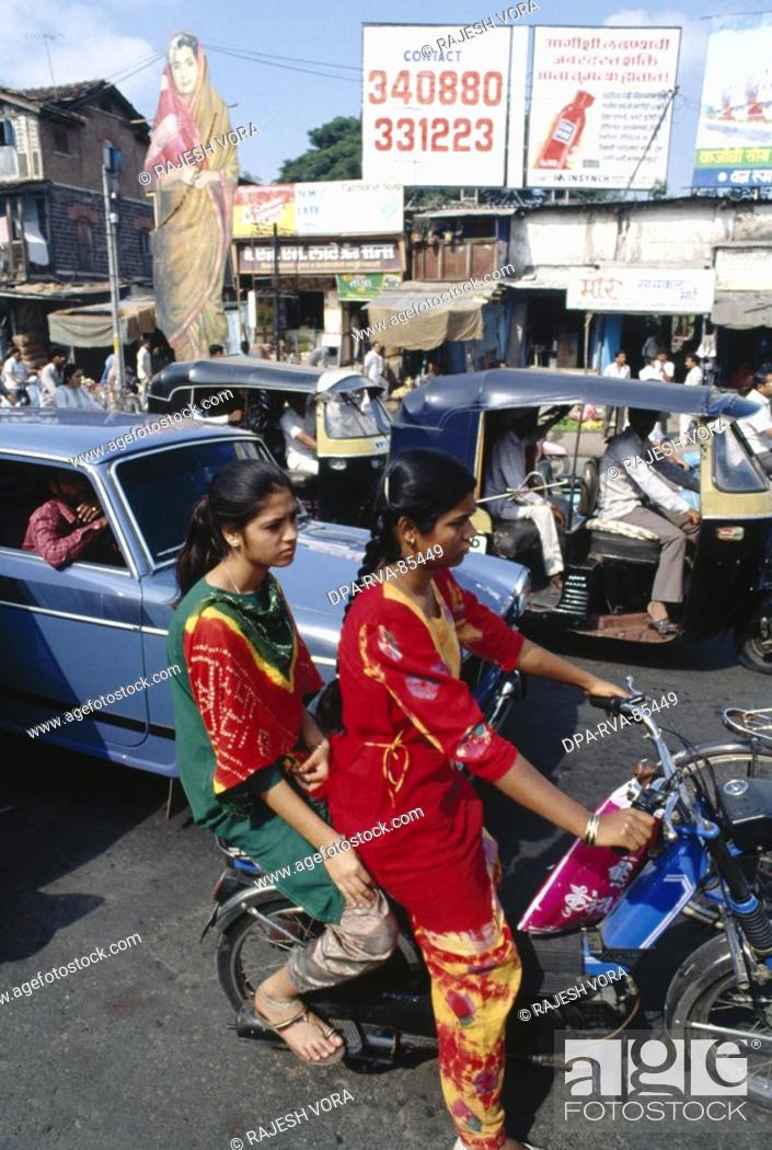 road transportation , pune , maharashtra , india, Stock Photo