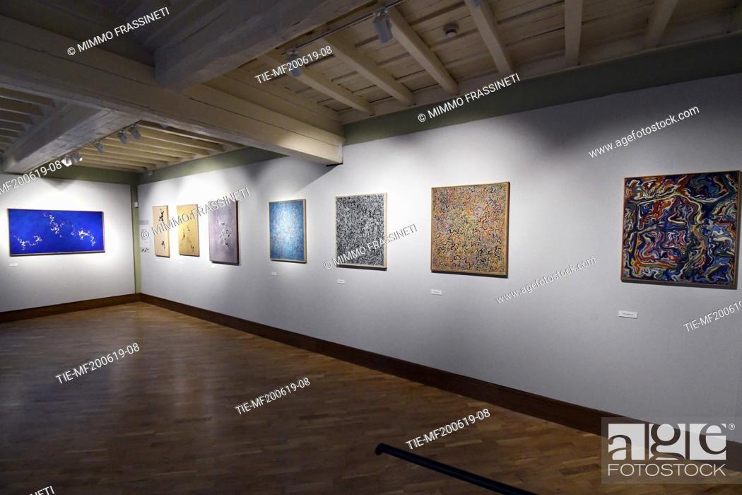 Imagen: Exhibition 'Luigi Boille. Luoghi di luce, scrittura del silenzio' at the Casino dei Principi di Villa Torlonia, Rome, ITALY-20-06-2019.