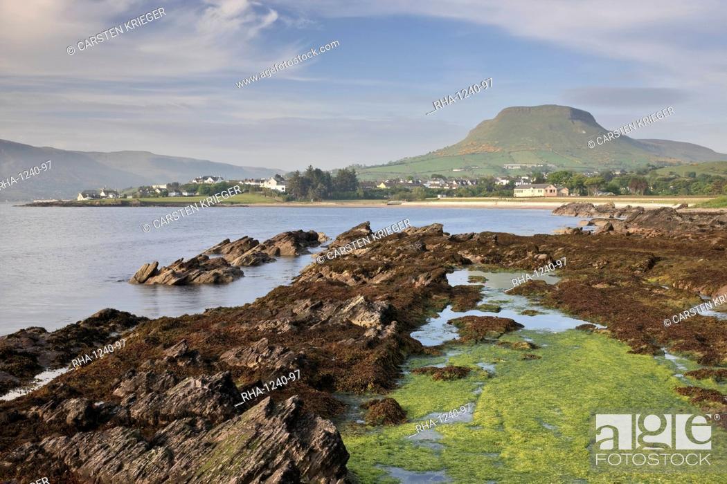 Stock Photo: Red Bay, County Antrim, Ulster, Northern Ireland, United Kingdom, Europe.