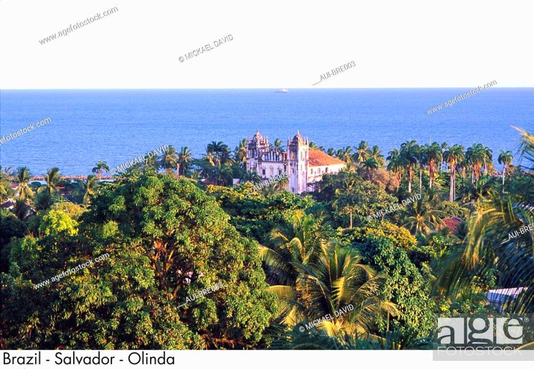 Stock Photo: Brazil - Salvador - Olinda.