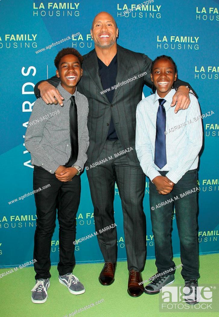 Dwayne Johnson Honored At The La Family Housing Awards 2018