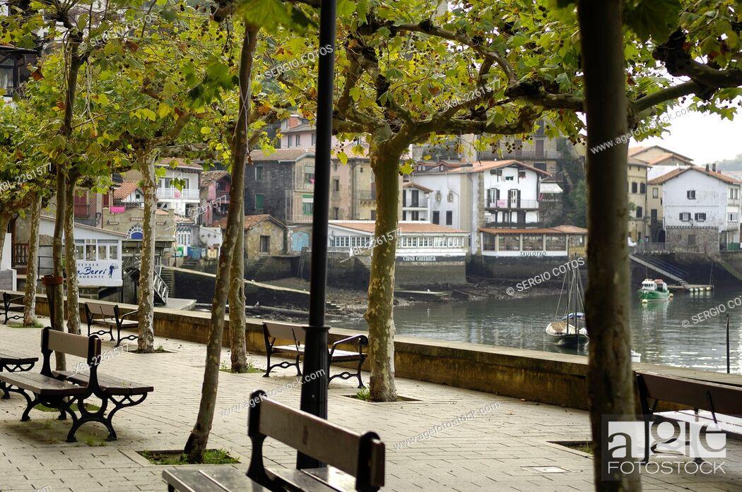 Stock Photo: landscape, Pasajes de San Juan, Basque Country, Spain.