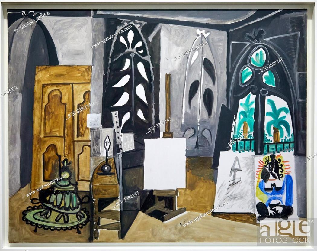 """Stock Photo: """"L'Atelier de la Californie"""", 1956, Pablo Picasso, Picasso Museum, Paris, France, Europe."""