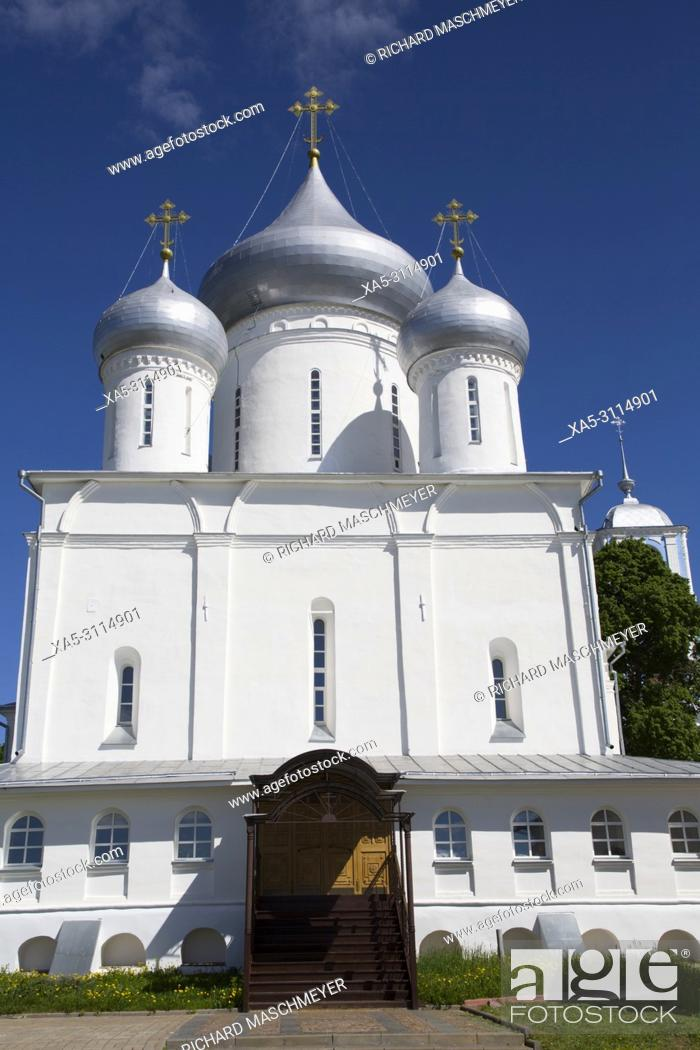 Imagen: Nikitsky Cathedral, Nikitsky Monastery, Pereslavl-Zalessky, Golden Ring, Yaroslavl Oblast, Russia.