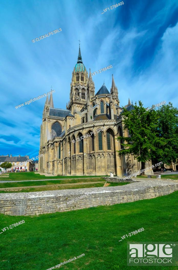 Stock Photo: Bayeux, Normandy, France.