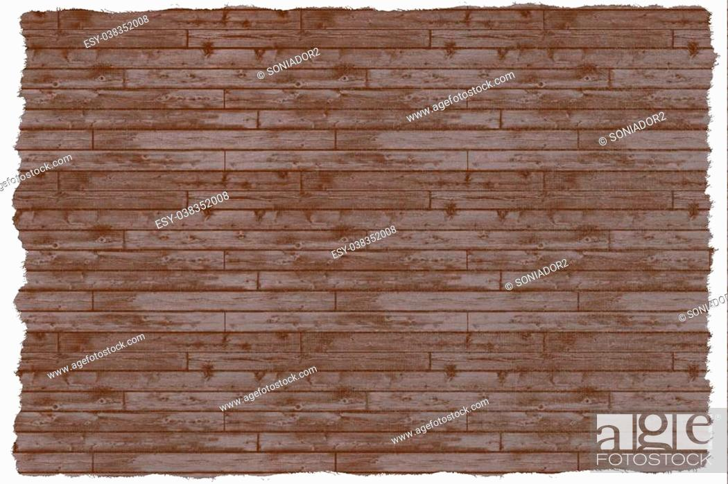 Stock Photo: wood wall background.