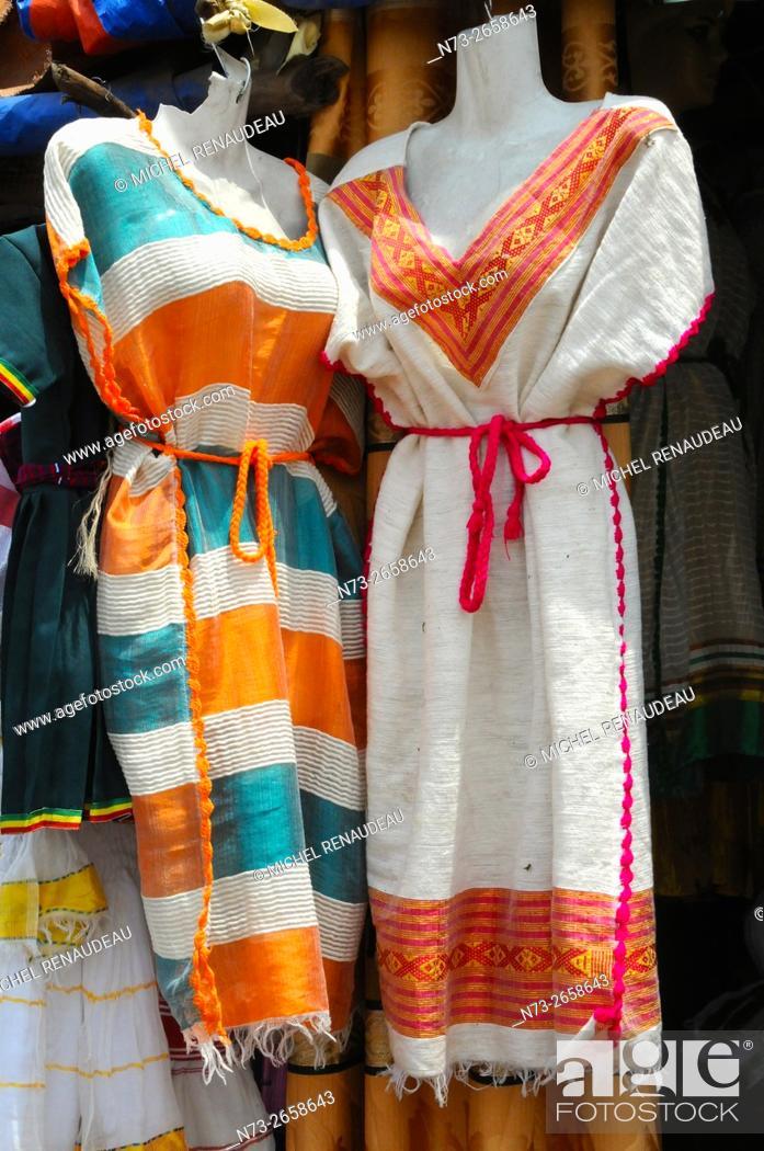 Stock Photo: Ethiopia, Addis Ababa, Market.