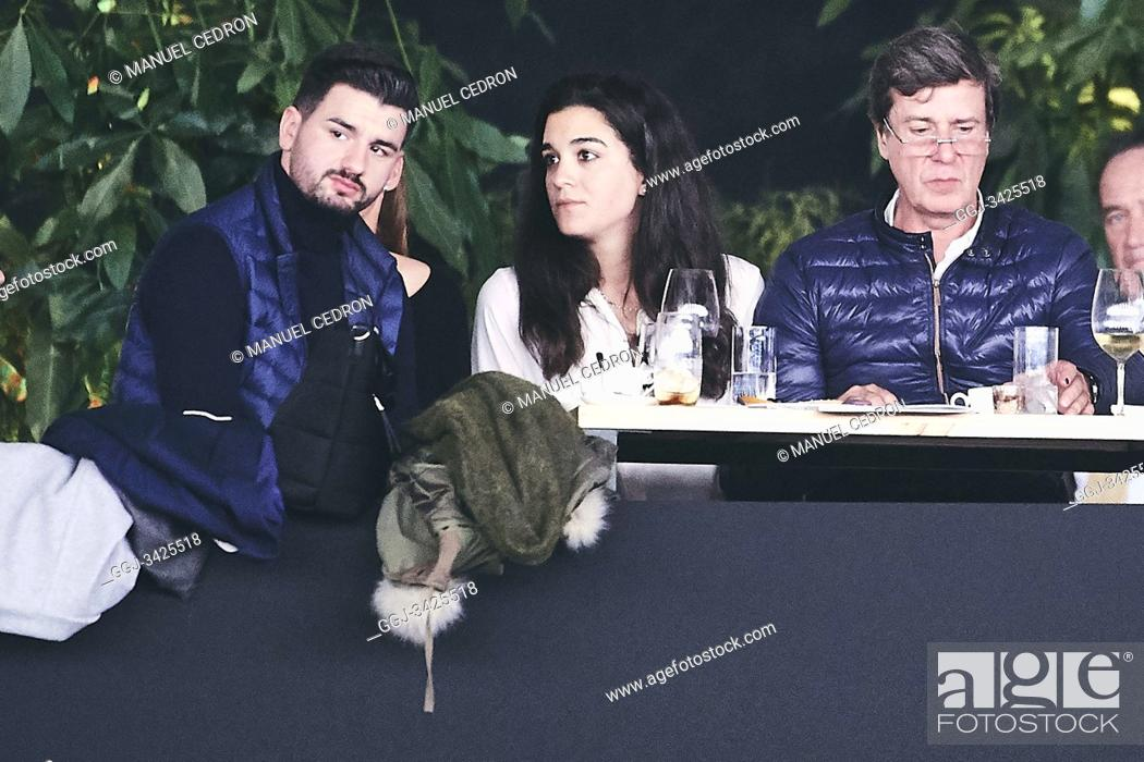 Stock Photo: Cayetano Martinez de Irujo, Barbara Mirjan attends Madrid Horse Week - Day 1 at IFEMA on November 29, 2019 in Madrid, Spain.