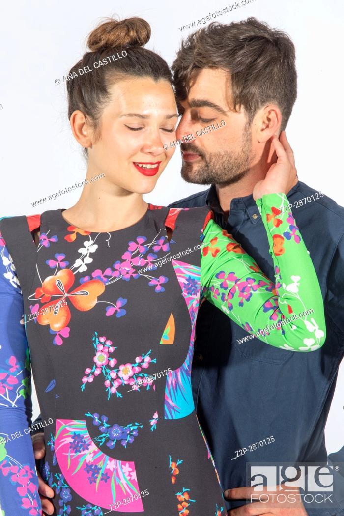 Stock Photo: Mid-adult couple.