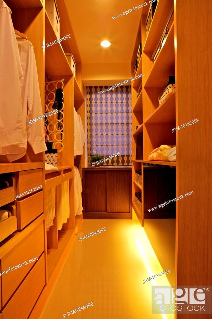 Stock Photo: Modern Interior Design - Wardrobe.
