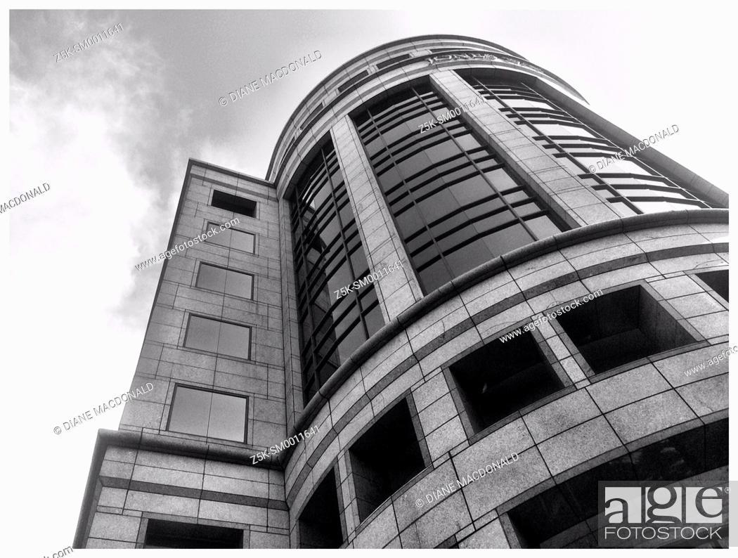 Stock Photo: A Midtown Atlanta, Georgia office building.
