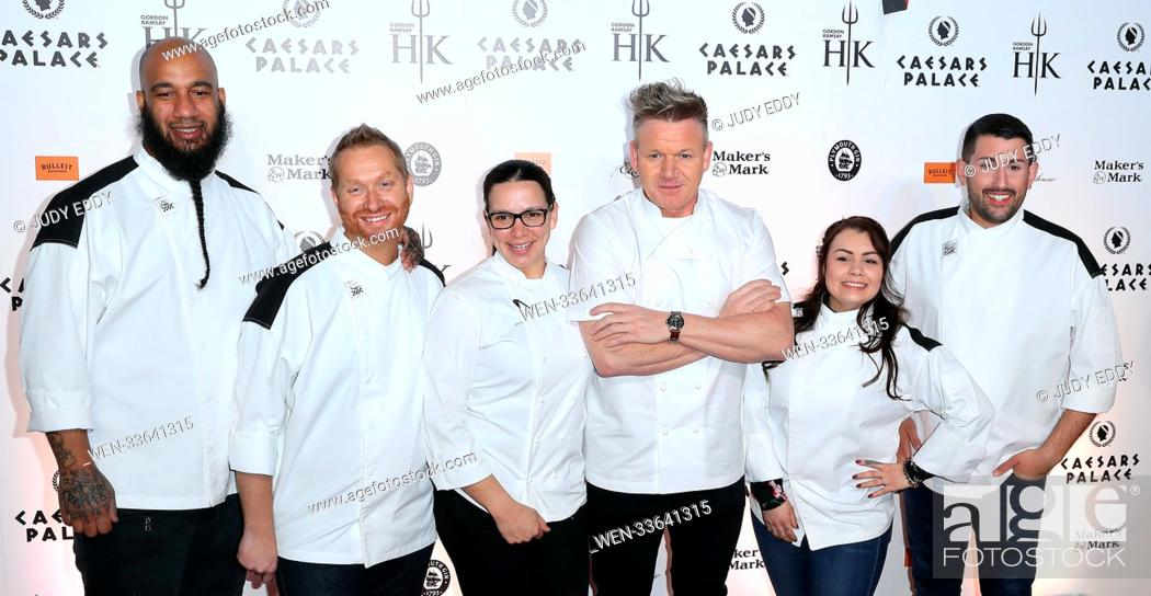 Grand Opening Of Gordon Ramsay Hell S Kitchen Restaurant At