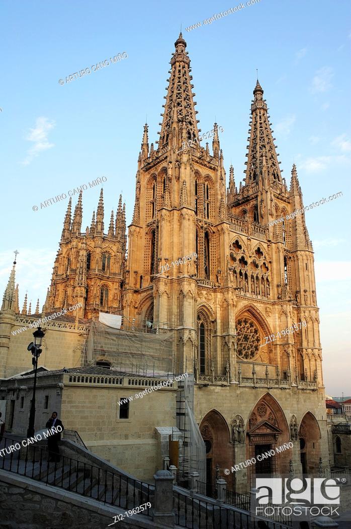 Stock Photo: Cathedral of Santa Maria. Burgos, Spain.