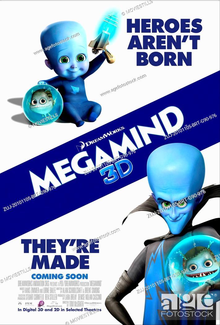 RELEASE DATE: November 5, 2010  MOVIE TITLE: Megamind
