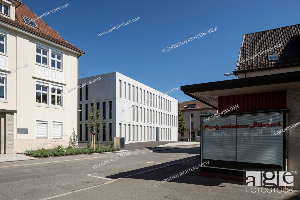 Imagen: The new expansion of the Finance Offices Biberach allowed a better consolidation of the formerly spread-out offfices. The office.