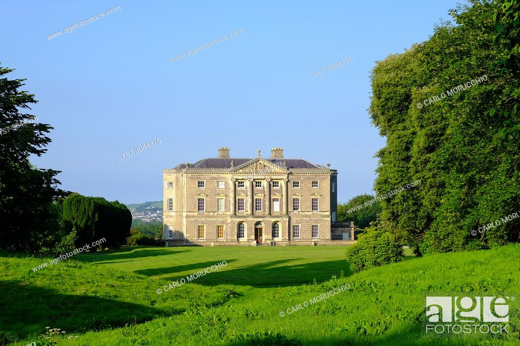 Stock Photo: Castle Ward, an 18th-century National Trust property located near the village of Strangford, in County Down, Northern Ireland.