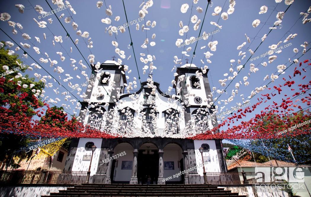 Imagen: Nossa Senhora do Monte, Funchal, Madeira, Portugal.