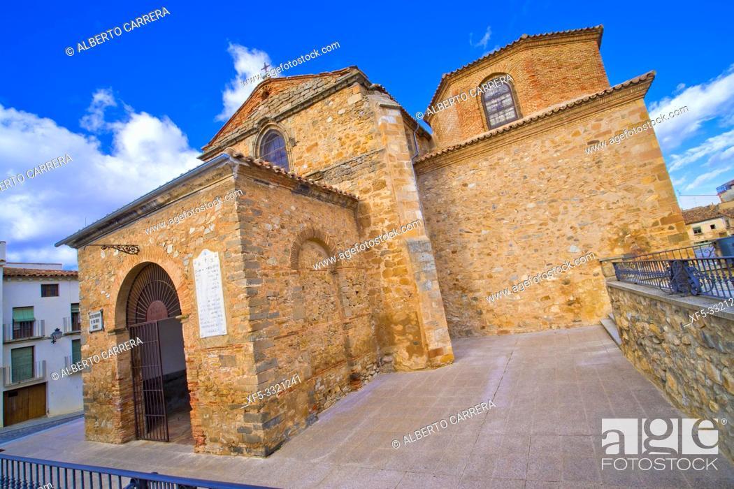 Imagen: San Miguel Church,12-16th Romanesque-Gothic Style, Soria, Castilla y León, Spain, Europe.
