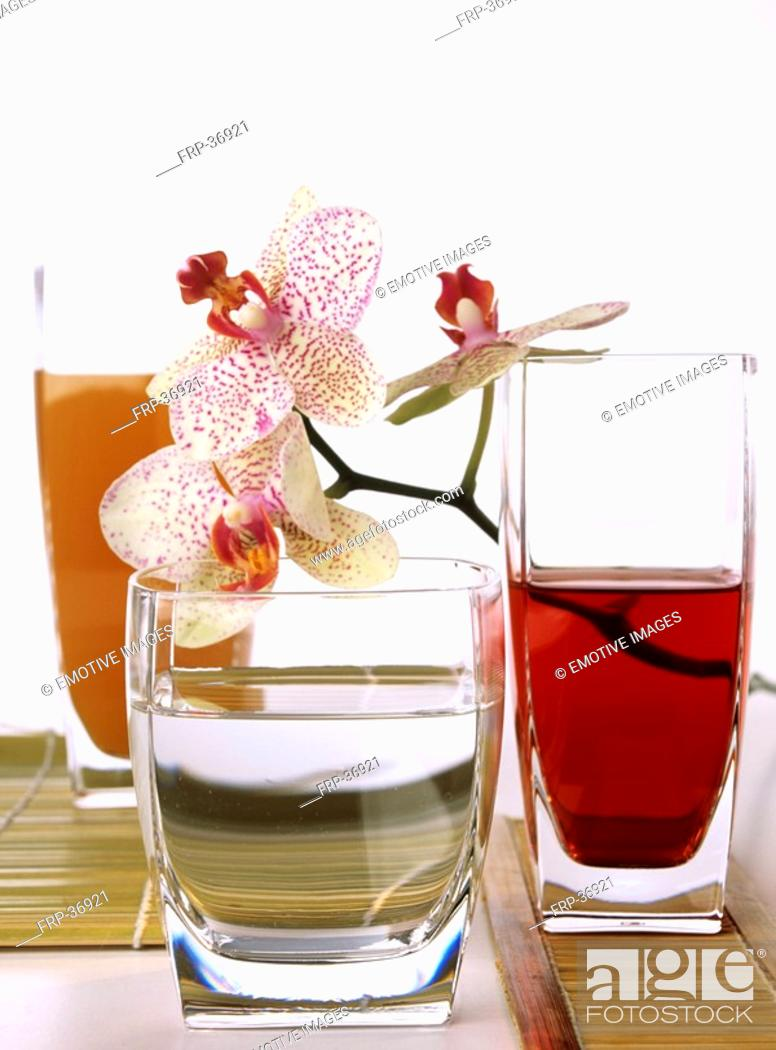 Stock Photo: Hibiscus juice.