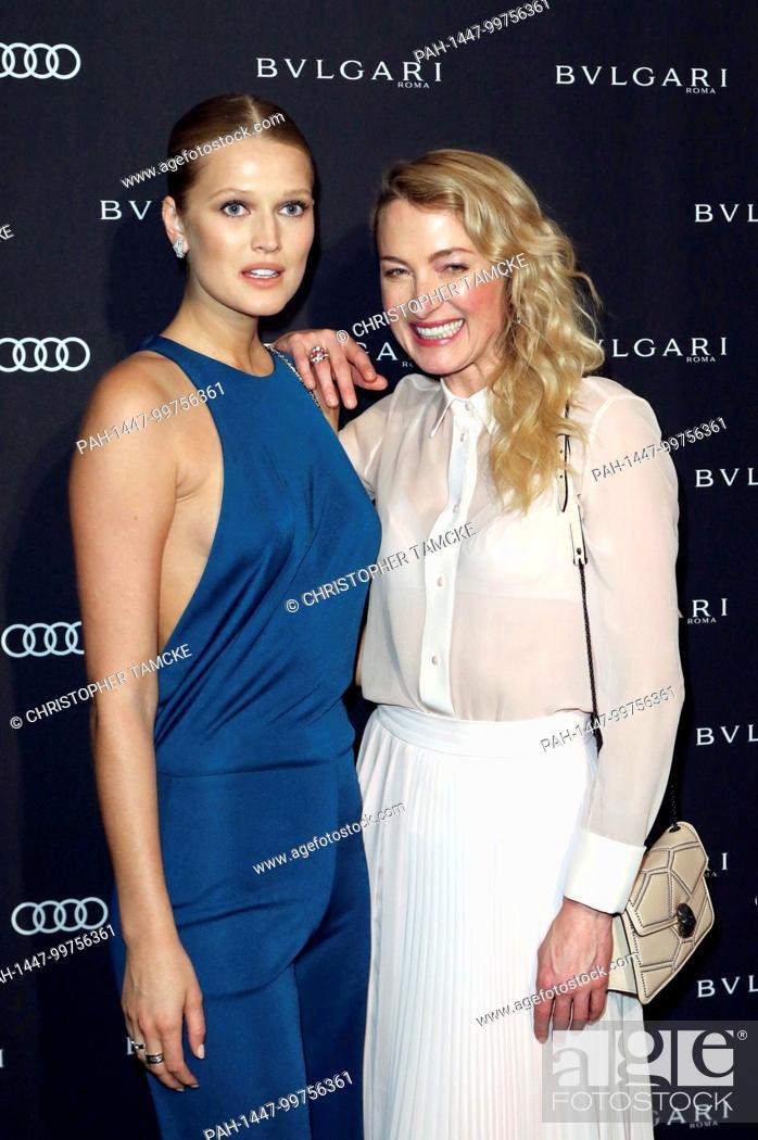 Toni Garrn And Lilly Zu Sayn Wittgenstein Berleburg Attending The