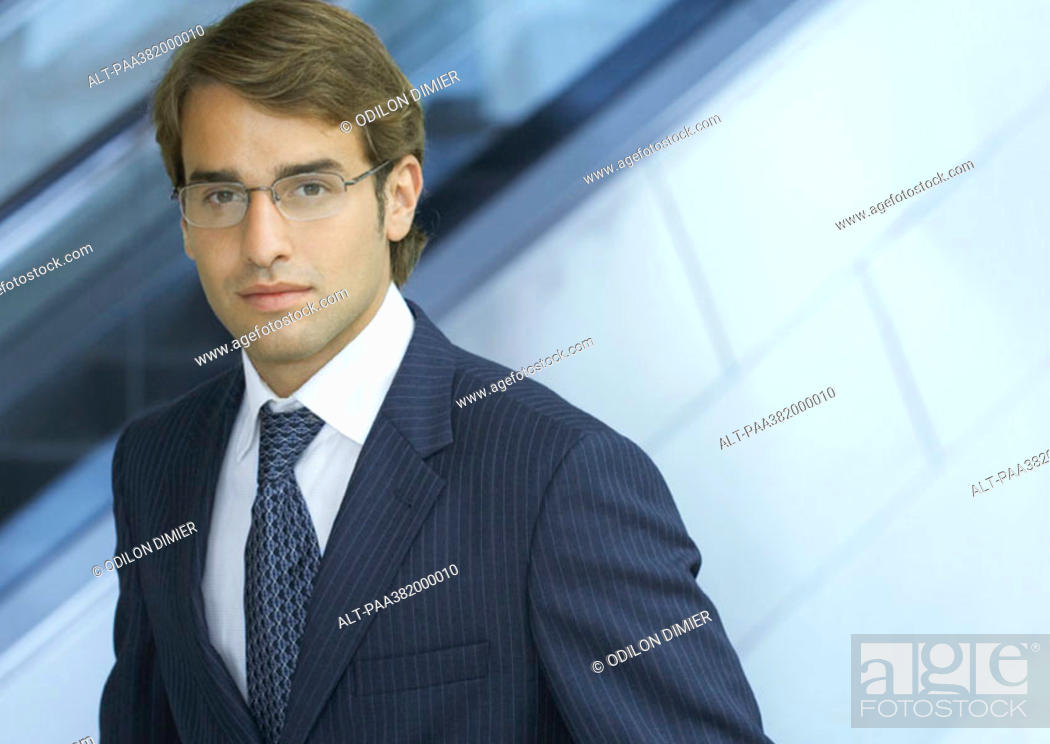 Stock Photo: Businessman, portrait.