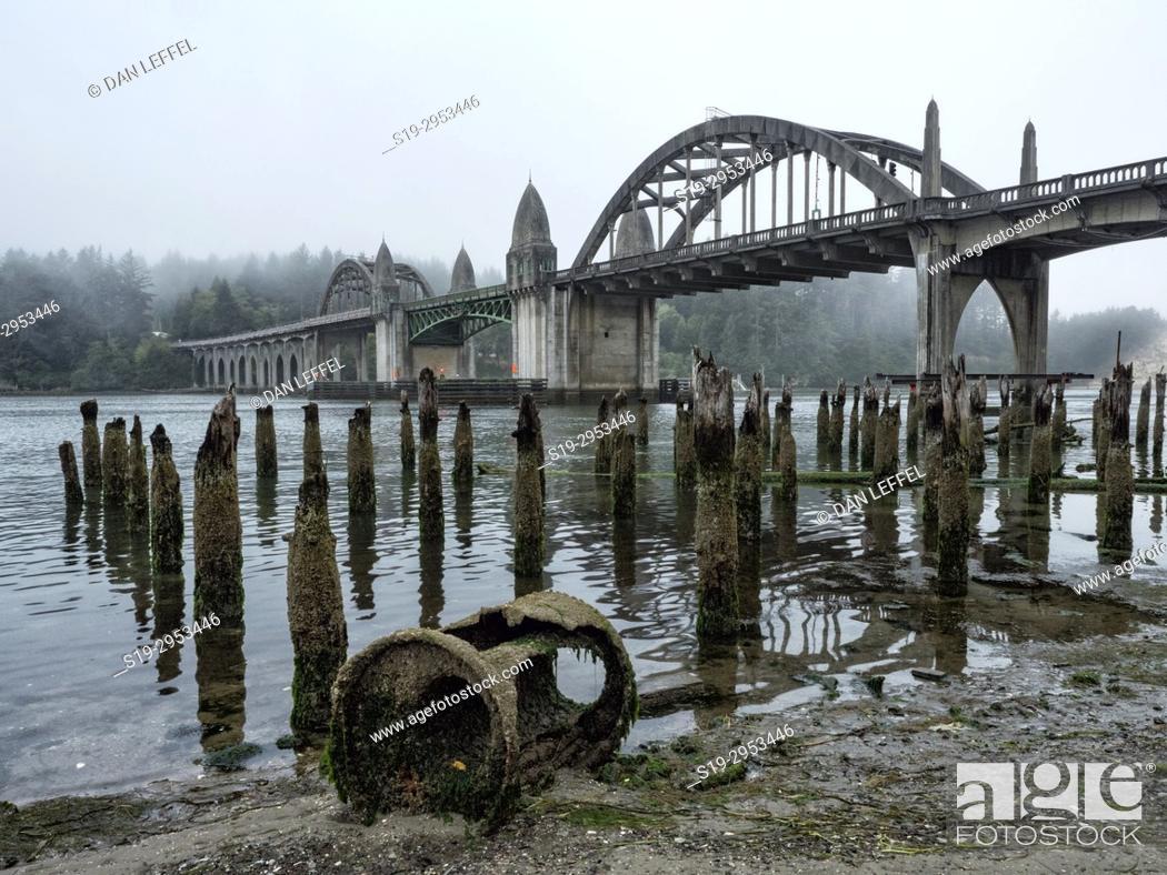 Imagen: Florence Oregon Bridge. USA.
