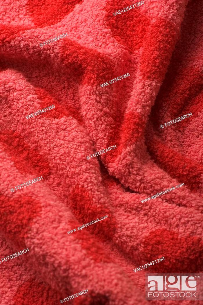 Stock Photo: Close-Up, Fabric, Fold, Full Frame, Heart Shape.