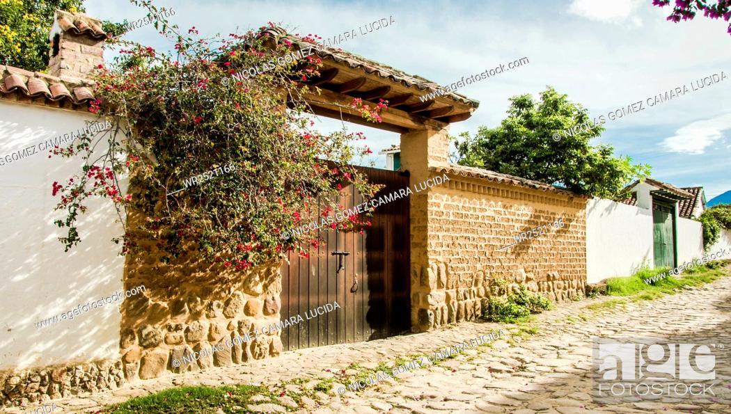 Imagen: Villa de Leyva, Boyaca, Colombia.
