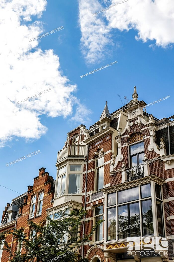 Photo de stock: Traditional architecture in Amsterdam, the Netherlands, Europe.