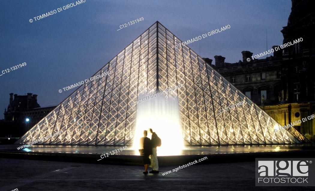 Stock Photo: Paris, Louvre.