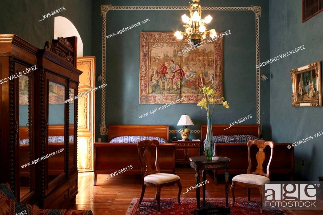 Stock Photo: Mexico. Querétaro. Marquise's House Hotel.