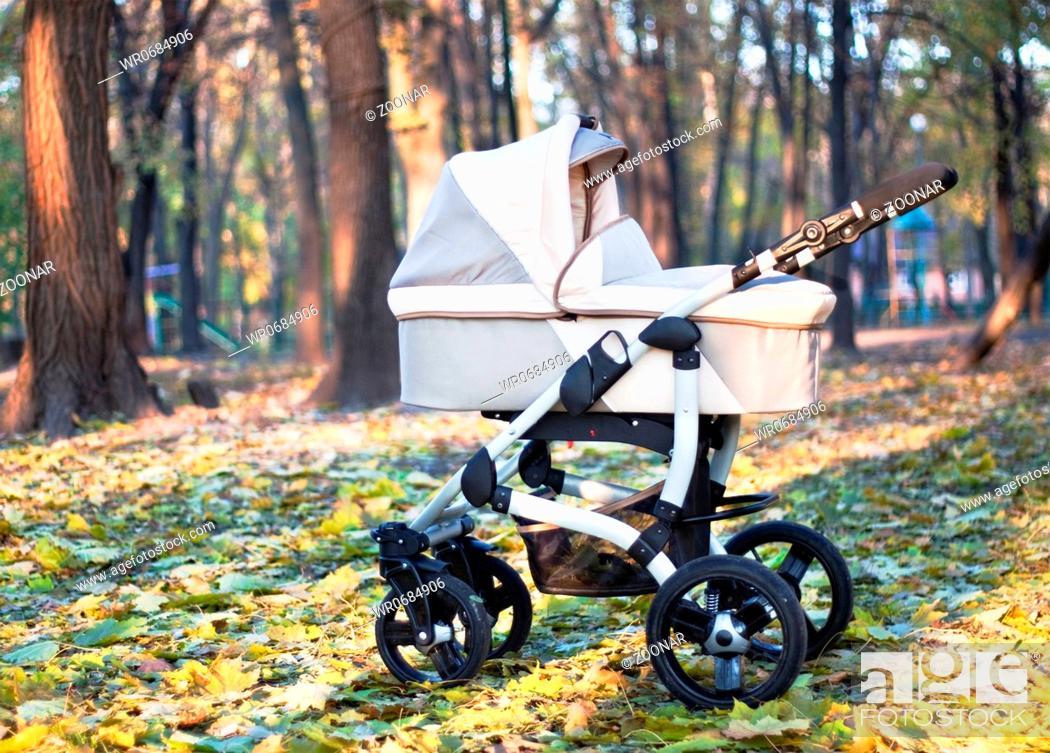 Stock Photo: autumn park.