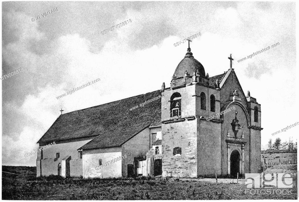 Imagen: architecture, Carmel, mission, religion, historical,.