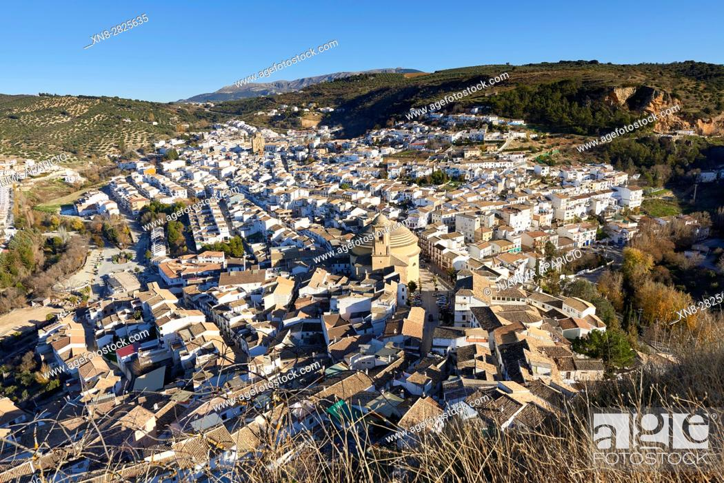 Stock Photo: Montefrio, Granada, Andalusia, Spain, Europe.