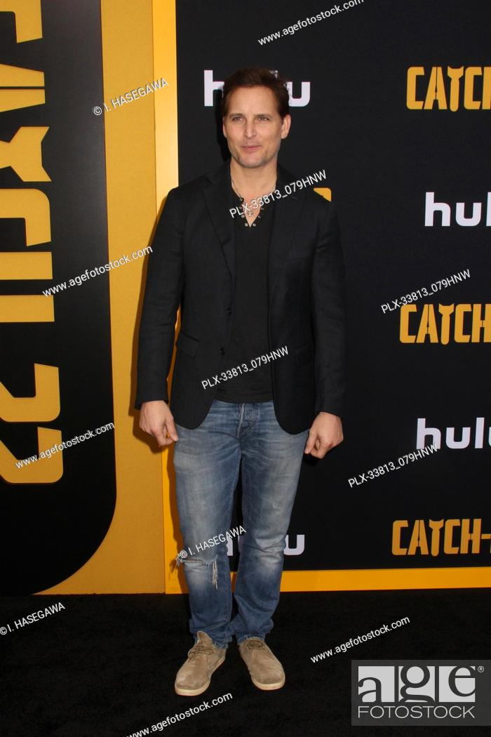 "Stock Photo: Peter Facinelli 05/07/2019 The U.S. Premiere of Hulu's """"CATCH-22"""" held at The TCL Chinese Theatre in Los Angeles, CA Photo by I."