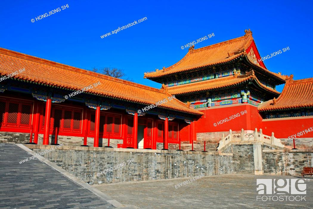 Imagen: The historical Forbidden City in Beijing.