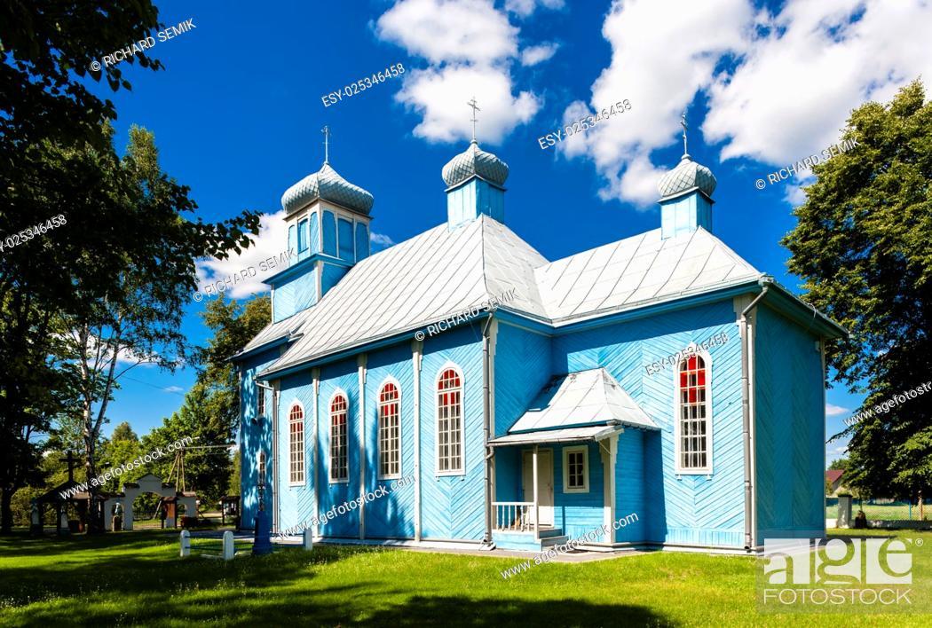 Imagen: orthodox church, Dubicze Cerkiewne, Podlaskie Voivodeship, Poland.