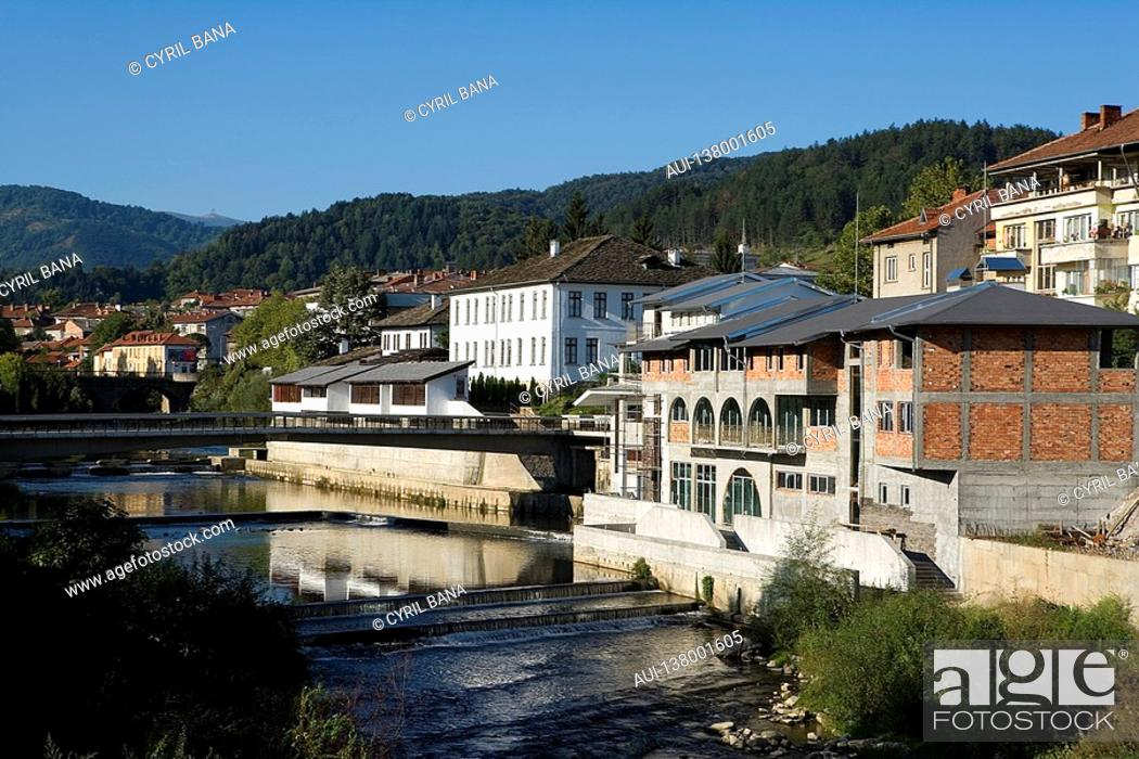 Stock Photo: Bulgaria - Northern Region - Balkan Mountains Stara Planina - Troyan.