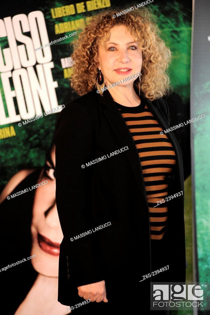 Stock Photo: iaia forte; forte; actress; celebrities; 2015;rome; italy;event; photocall; ho ucciso napoleone.