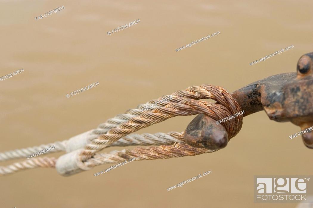Stock Photo: ropes.