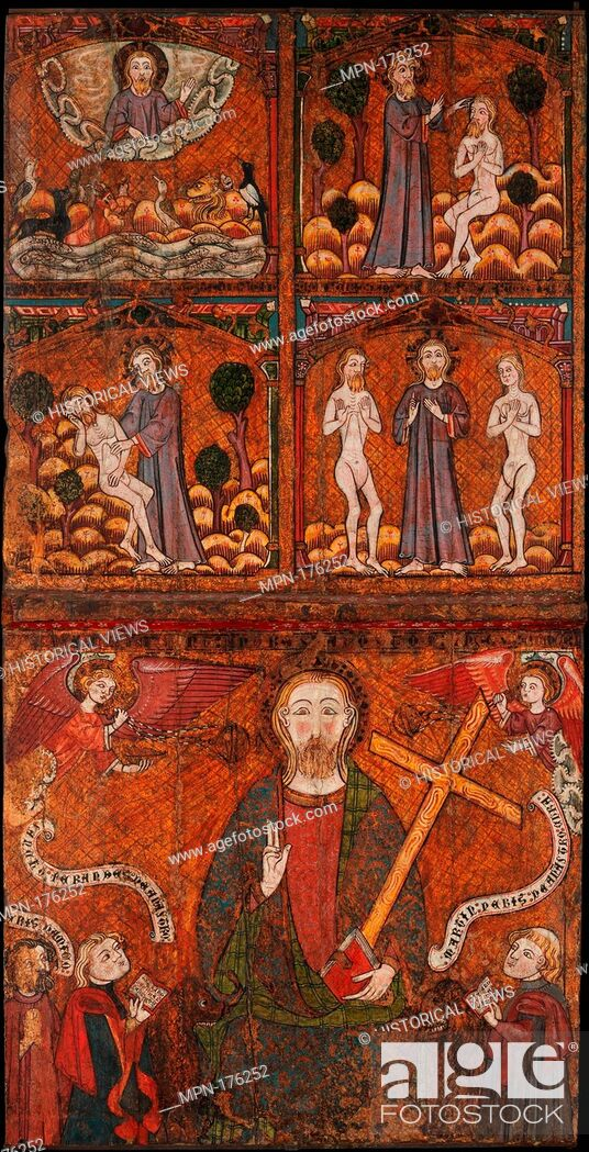 Stock Photo: Scenes from the Life of Saint Andrew. Date: late 14th century; Geography: Made in Castile, Spain; Culture: Spanish; Medium: Tempera on wood.