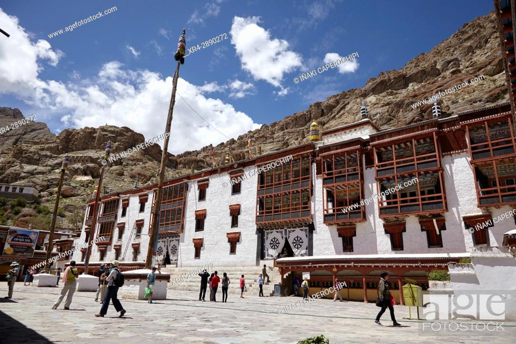 Stock Photo: Hemis Gompa, Hemis, Ladakh, India.